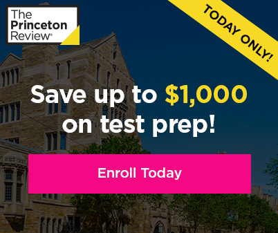 Save up to $1000 on test prep