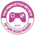 Top Game Design Schools 2017 seal