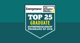 Top Entrepreneurship 2018 seal