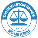 2019 Best Law Schools seal