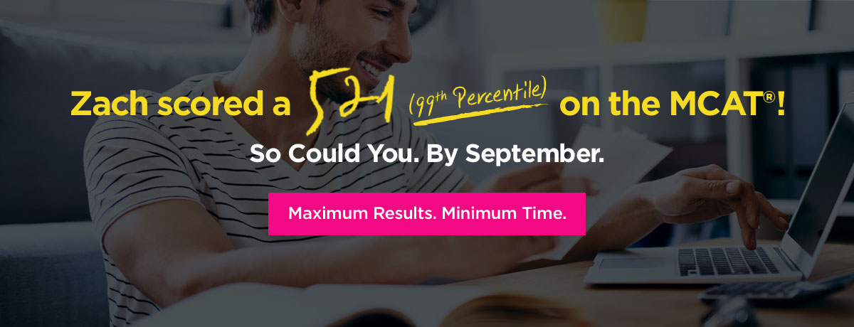 MCAT 99th percentile score