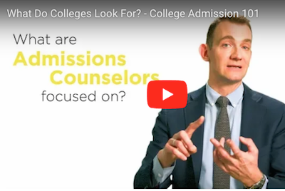 Video: What Do Colleges Look For?