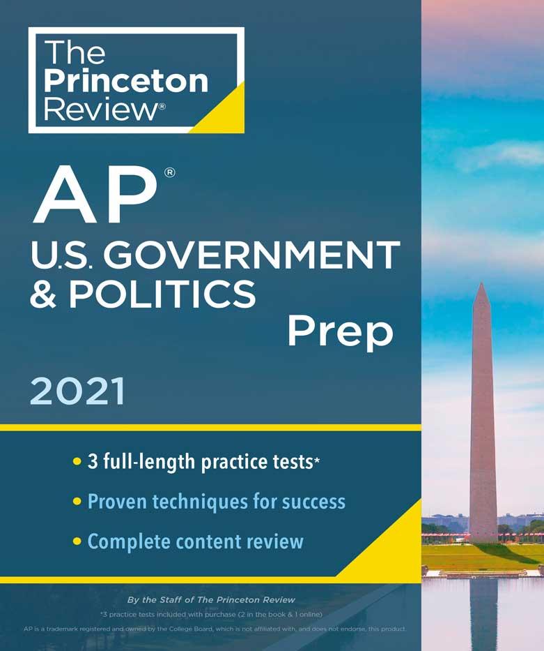 AP US Government & Politics Exam Book