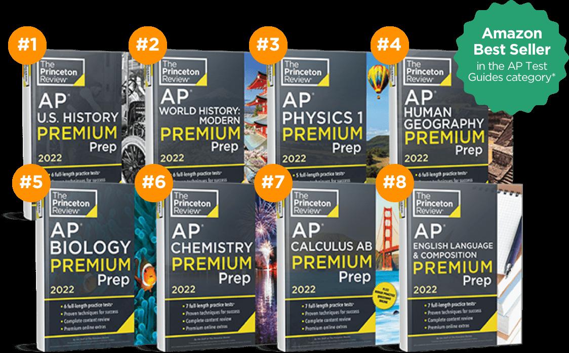 AP 5 Guarantee Tutoring Books