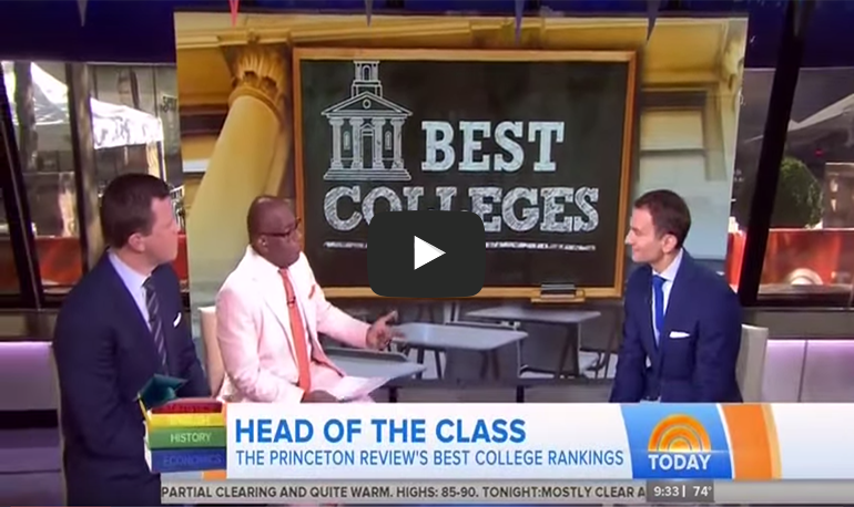 TODAY Show Video: Best 380 Colleges