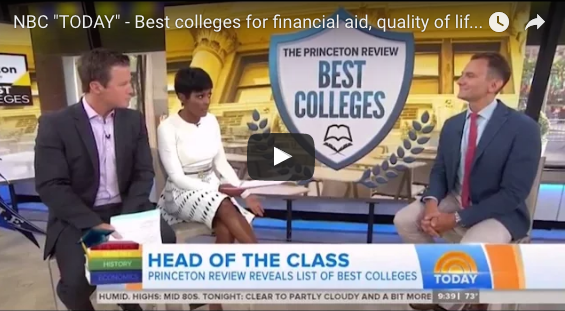 TODAY Show Video: Best 381 Colleges