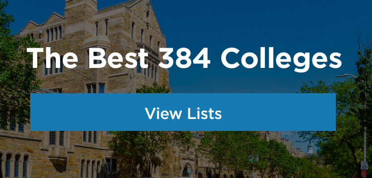 Top 10 Best Colleges For Students With >> Best Colleges 2019 College Ranking List The Princeton Review