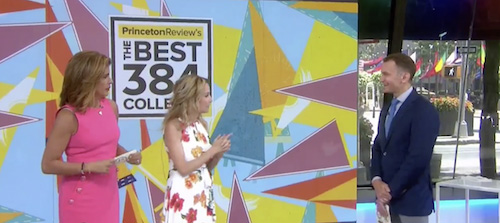 TODAY Show Video: Best 384 Colleges