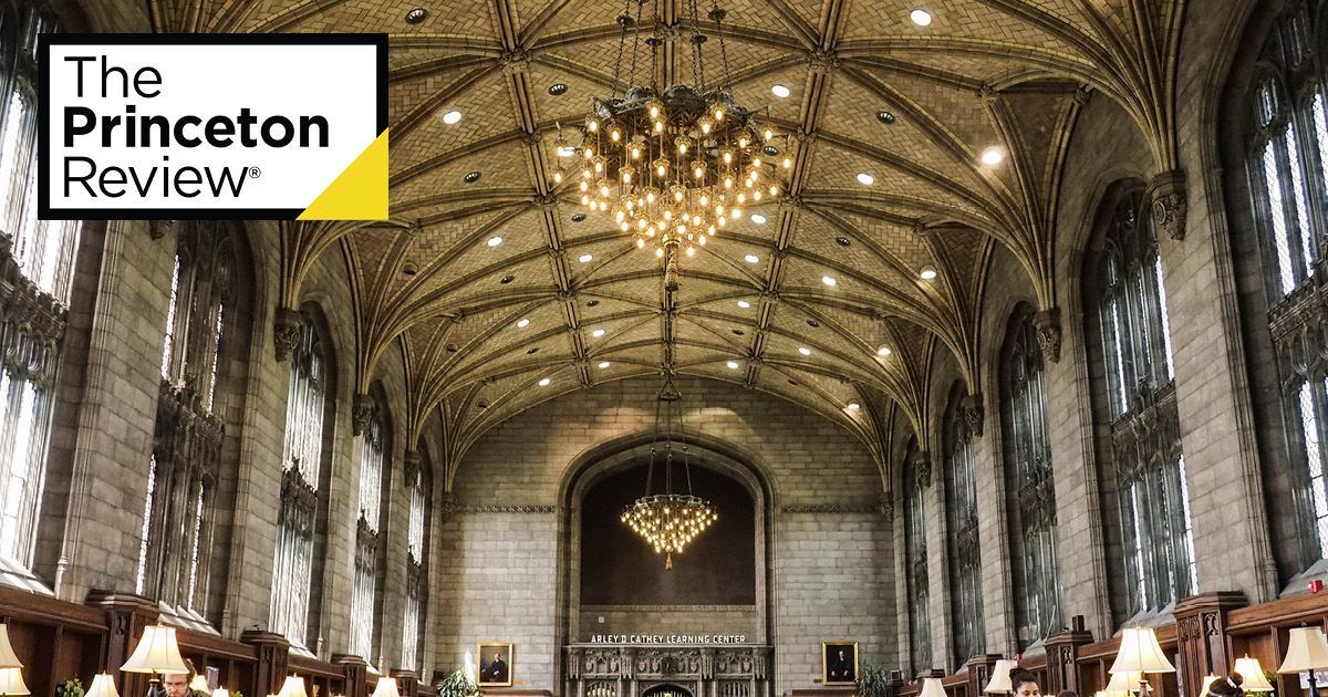 best college library the princeton review