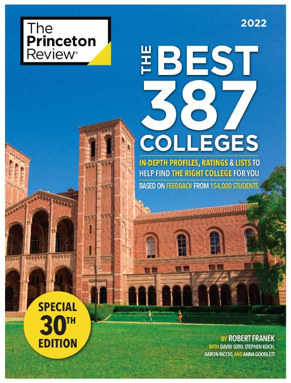 The Best 387 Colleges: 2022 Edition Buy Book