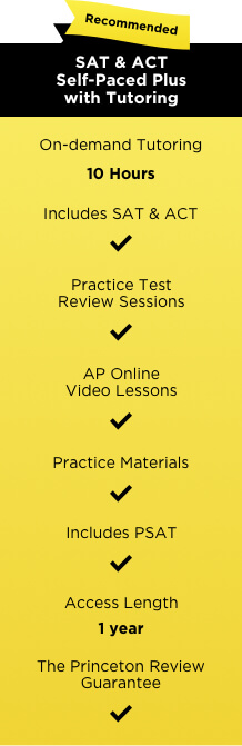 SAT ACT self-paced chart TPR