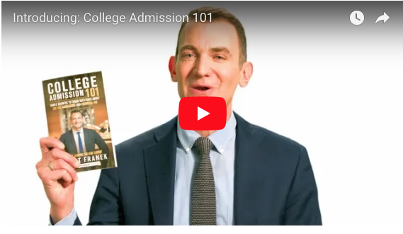 College Admission 101 book trailer