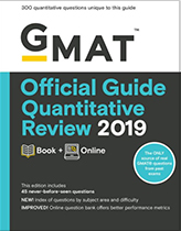 The GMAT Official Guide Quantitative Review