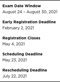 Ap Exam Calendar 2022.Cfa Test Dates Calendar Register For The Exam The Princeton Review