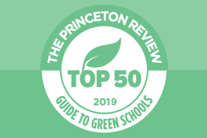 The Princeton Review: Top 50 Green Schools