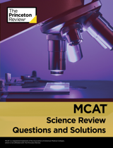 MCAT Science Review, Questions and Solutions book cover