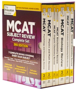 MCAT Subject Review 3rd Edition