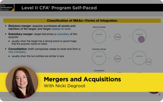 CFA Mergers and Aquisitions video screenshot