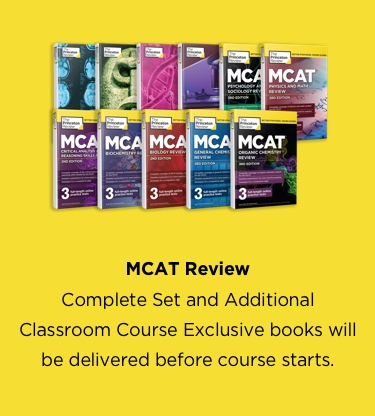 MCAT Books and titles