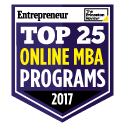 Top Online MBA 2016 seal