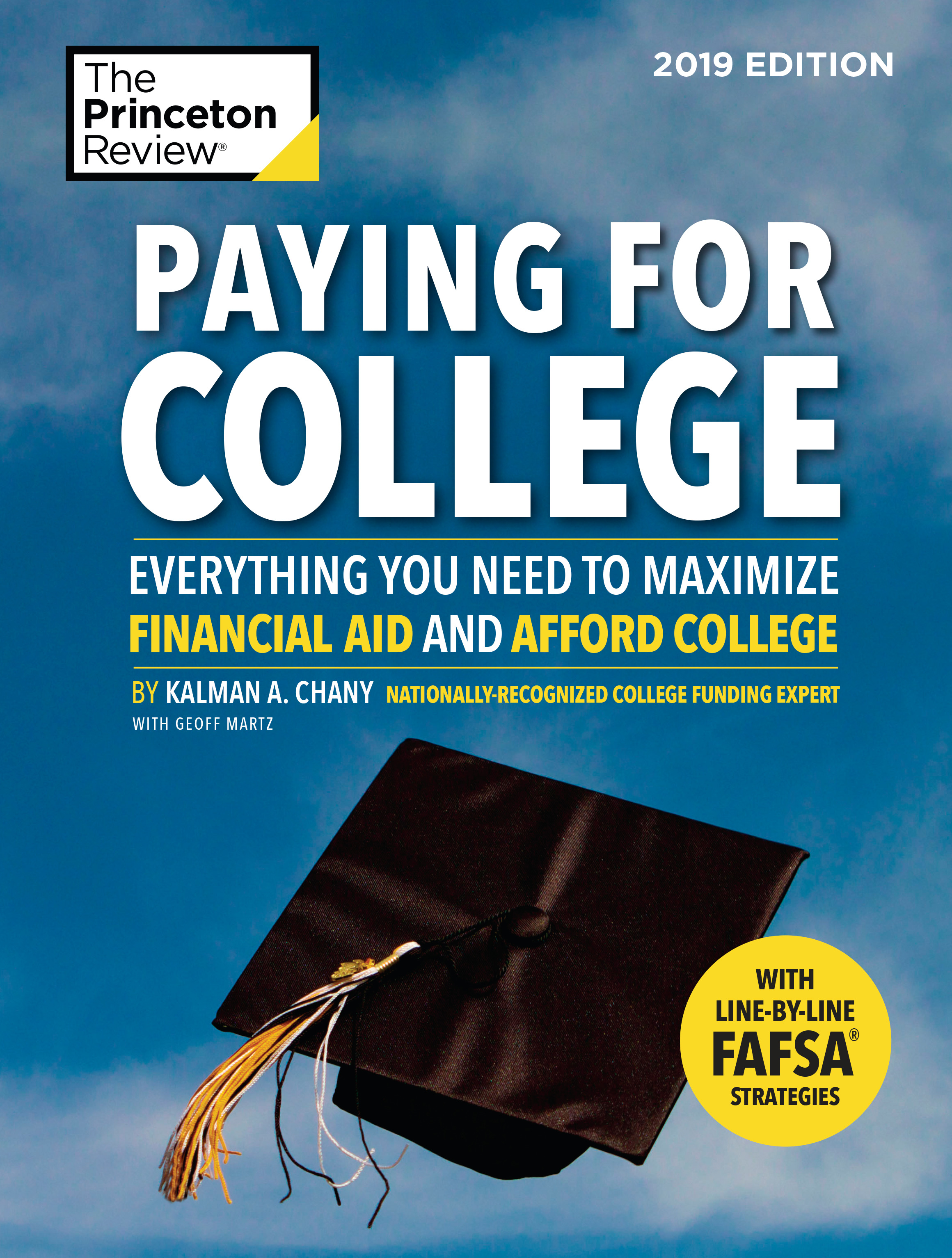 Buy your copy of Paying for College, 2019 edition
