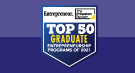 Top Entrepreneurship 2021 seal