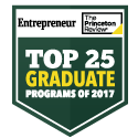 Top 25 Entrepreneurship seal