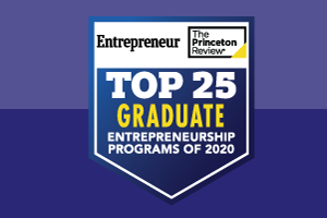 2020 Top Schools for Entrepreneurship: Graduate