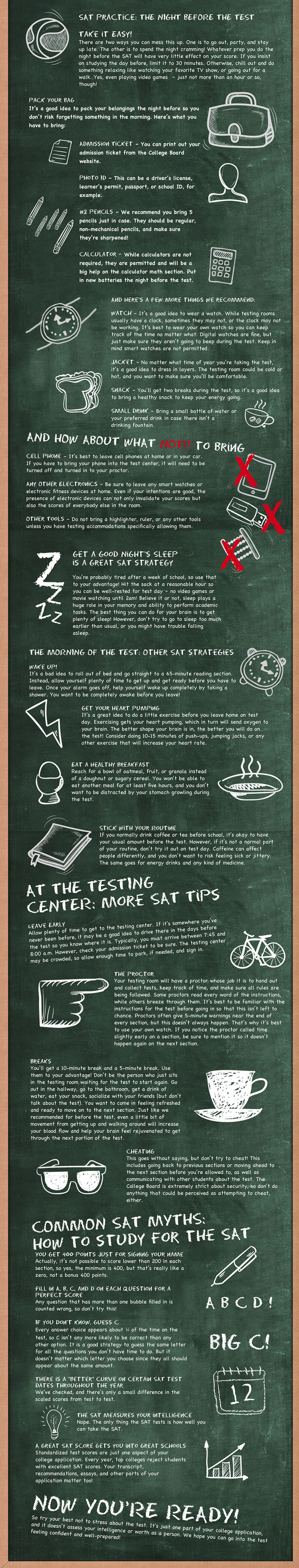 Last-Minute SAT Cram Tips | The Princeton Review