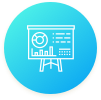 Administrator Dashboard keeps you informed icon