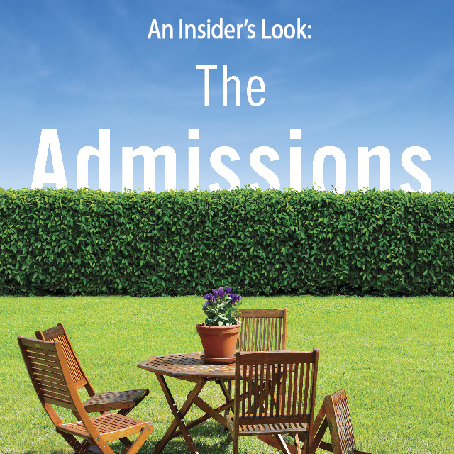 Q & A with Meg Mitchell Moore, author of The Admissions