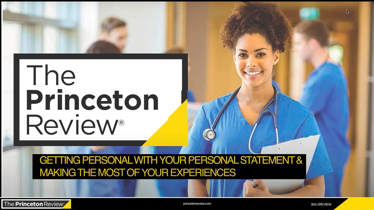 Getting Personal With Your Personal Statement and Making the Most of Your Experiences