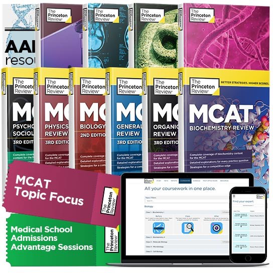 MCAT Winter Bootcamp Books